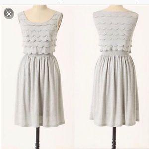 Anthropologie Deletta Silver Lining Tank Dress